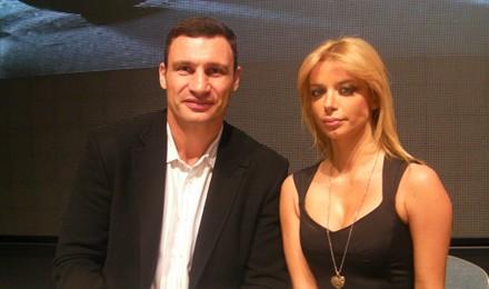 Vitalij Kličko i Fani Stipković