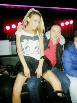 Violeta & Brandon (The Famous Disco Club, Folnegovićeva 10, Zagreb)
